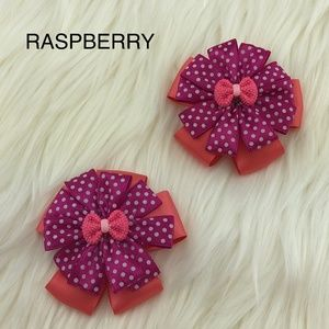 Other - NWOT Girl's Hair Bow clips